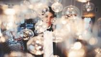 wedding photo - Epic Chandelier.