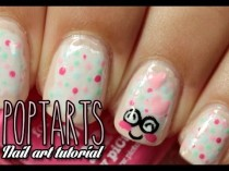 wedding photo - Poptarts Nailart