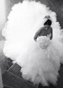 "wedding photo - Pin By Crystal Brooch Bouquets Inc. On Crystal Brooch Bouquets ""The Dress"""