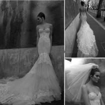 wedding photo - Mermaid style white wedding dress to make you look gorgeous