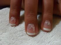 wedding photo - Bridal Nail Designe