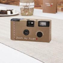wedding photo - 1 X Wedding Disposable Camera - RUSTIC JUST MY TYPE