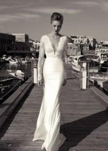 wedding photo - New Arrival Lace Wedding Dress Bridal Gowns Custom Size 4 6 8 10 12 14 16 18 20