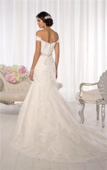 wedding photo - New White/Ivory Lace Bridal Gown Wedding Dress Custom Size 6 8 10 12 14 16 18  A