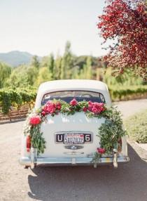 wedding photo - A Pink   Purple Wedding Set In Napa Valley