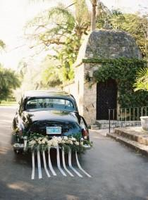 wedding photo - Wedding Car Decoration