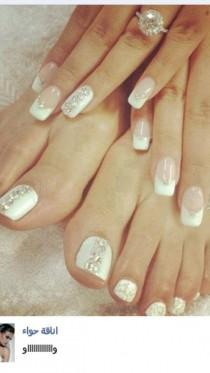 Wedding Nail Designs - Weddbook