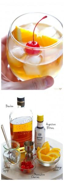 wedding photo - Old Fashioned Cocktail