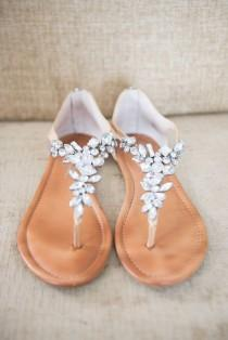 wedding photo - Crystal Wedding Sandal