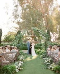wedding photo - An Enchanted Garden Wedding In California