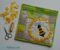 wedding photo - Pat Sloan: Free Bumble Bee Pouch Pattern!