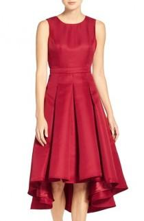 wedding photo - Lulus Cutout Back Tea Length High/Low Dress