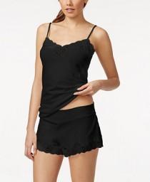 1e0615a397 Lauren Ralph Lauren Lauren Ralph Lauren Lace-Trim Pajama Top and Shorts