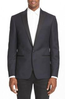 wedding photo - John Varvatos Star USA Trim Fit Wool Dinner Jacket