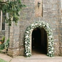 wedding photo - Green Wedding Arch