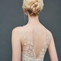 wedding photo - sexy evening gown