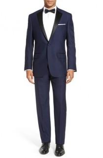 wedding photo - Hart Schaffner Marx Classic Fit Wool Tuxedo