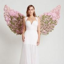 wedding photo - Floral Wings
