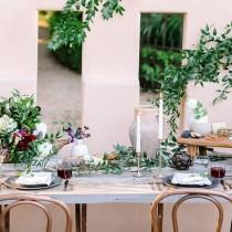 wedding photo - Gorgeous Wedding Table