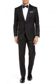 wedding photo - Ted Baker London Josh Trim Fit Wool & Mohair Tuxedo