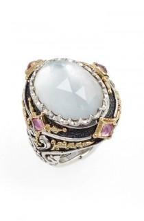 wedding photo - Konstantino Nemesis Mother of Pearl Ring