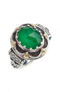 wedding photo - Konstantino Nemesis Semiprecious Stone Ring
