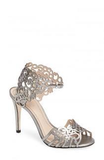 wedding photo - Klub Nico 'Moxie' Laser Cutout Sandal (Women)