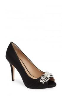 wedding photo - Nina Ruana Peep Toe Pump