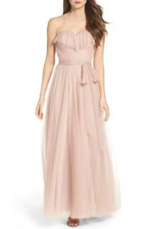 wedding photo - Watters Angelie Strapless Tulle Gown