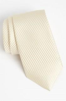 wedding photo - David Donahue Woven Silk Tie