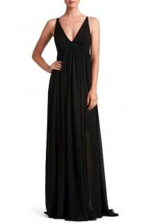 wedding photo - Dress the Population Phoebe Chiffon Gown
