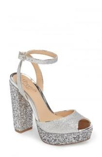 wedding photo - Badgley Mischka Luke Platform Sandal (Women)