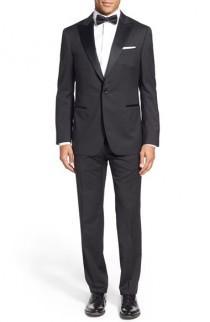 wedding photo - Pal Zileri Classic Fit Wool Tuxedo