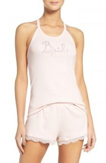 wedding photo - Betsey Johnson Bride Short Pajamas