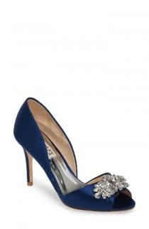 wedding photo - Badgley Mischka Kaden Embellished d'Orsay Pump (Women)