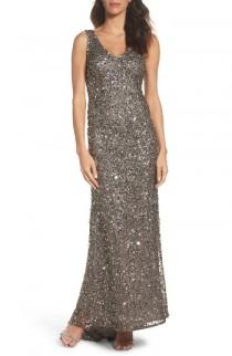 wedding photo - Adrianna Papell Sequin Gown