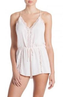 wedding photo - In Bloom by Jonquil Lace Trim Romper