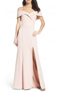 wedding photo - Xscape Portrait Collar Gown