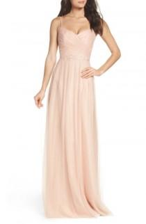 wedding photo - Monique Lhuillier Bridesmaids Brooks Tulle Gown (Nordstrom Exclusive)