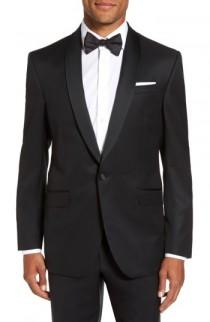 wedding photo - Ted Baker London Trim Fit Wool & Mohair Dinner Jacket