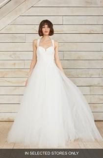 wedding photo - nouvelle AMSALE Gayle Taffeta & Tulle Ballgown