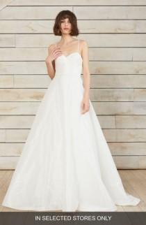 wedding photo - nouvelle AMSALE Farrah Taffeta A-Line Ballgown