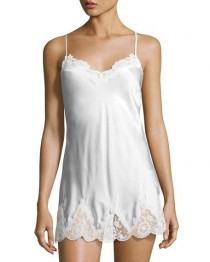 wedding photo - Lace-Trim Babydoll Chemise