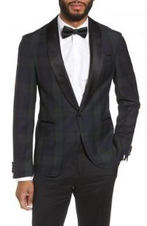 wedding photo - BOSS Nemir Classic Fit Wool Dinner Jacket
