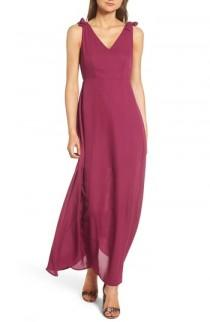 wedding photo - Dee Elly Tie Strap Maxi Dress
