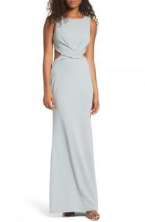 wedding photo - Lulus Cutout Mermaid Gown