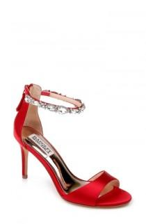 wedding photo - Badgley Mischka Sindy Ankle Strap Sandal (Women)