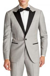 wedding photo - Bonobos Capstone Slim Fit Wool Dinner Jacket