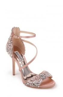 wedding photo - Badgley Mischka Selena Strappy Sandal (Women)