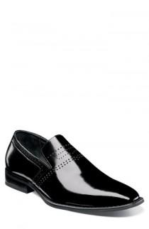 wedding photo - Stacy Adams Saunders Perforated Venetian Loafer (Men)